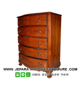 Furniture Jepara Chest 5dwr