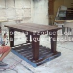 Finishing Furniture Kayu Jepara Model Spray