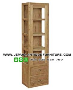 Lemari Kaca Furniture Jati Jepara