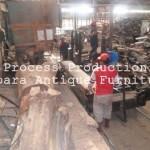 Proses produksi Furniture Jati Jepara