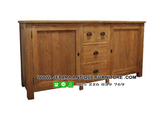 Buffet Model Minimalis Antik