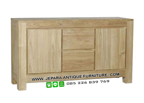 Furniture Minimalis Buffet Jati Jepara