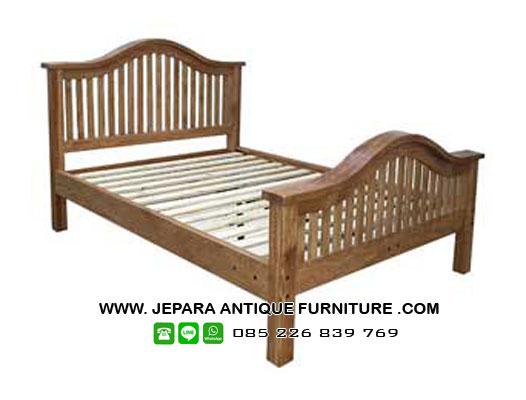 tempat-tidur-jati-natural