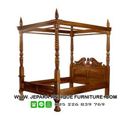 tempat-tidur-jati-model-canopy