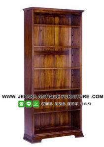 Rak Buku Perpustakaan Tanpa Pintu