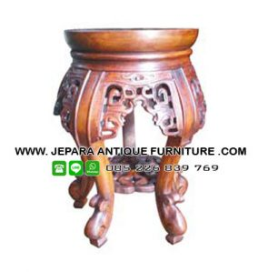Tempat Bunga Kayu Jati Furniture Jepara