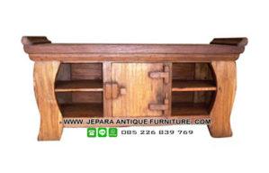 Furniture Antik Bufet TV Rustic