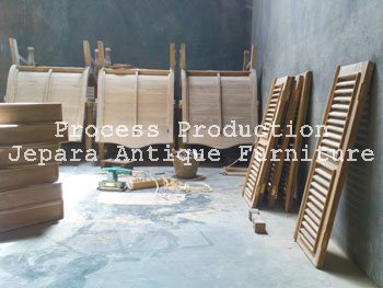 Produk Un Finishing Furniture Jati Jepara