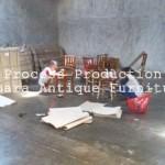 Proses Perpacking Produk Toko Furniture Jepara