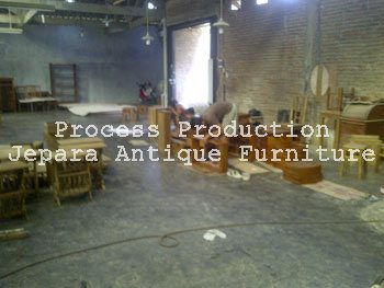 Quality Control Semi Finish Produk Mebel Jepara Antique Furniture