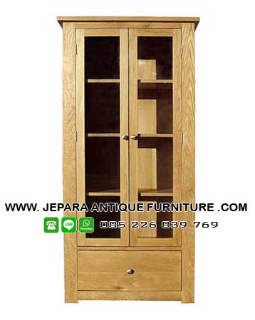Lemari Minimalis kayu Jati