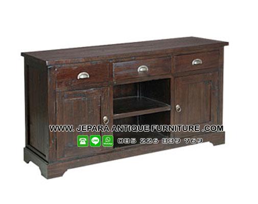Buffet Jati Furniture Rustic
