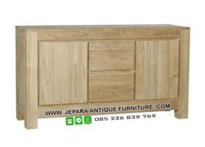 Furniture Minimalis Buffet Jati Jepara