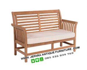 Bangku Taman Kayu Jati Furniture Hotel