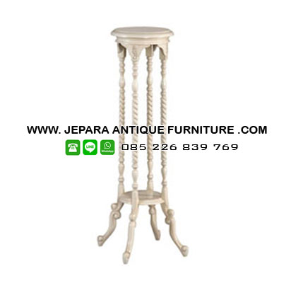 Furniture Tempat Vas Bunga Duco