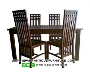 Furniture Set Meja Makan Jepara