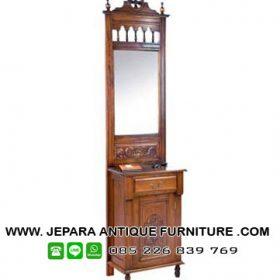 Model Meja Rias Furniture Klasik Kayu Jati