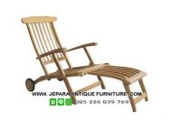 Furniture Outdoor Kursi Pantai Kayu Jati
