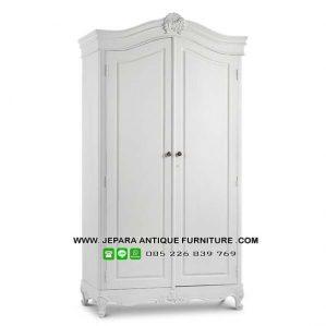 Model Lemari Baju Minimalis Warna Putih