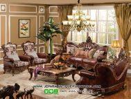 Ukiran Kursi Tamu Mewah Model Sofa